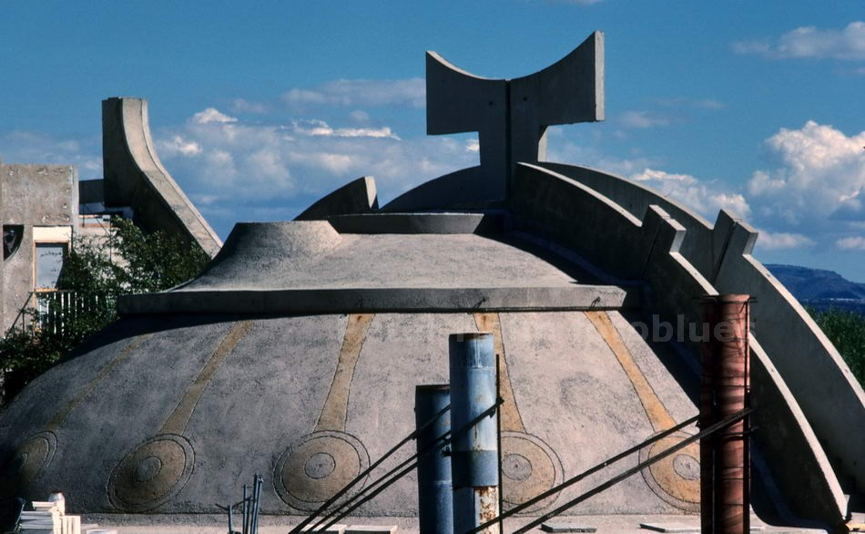 ARCOSANTI - ARIZONA-USA - BAUTEN DES ARCHITEKTEN SOLARI