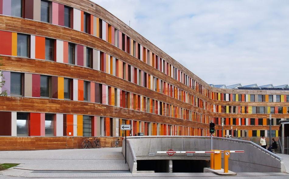 DESSAU - SACHSEN ANHALT-GERMANY - UMWELTBUNDESAMT - 2005 - SAUERBRUCH-HUTTEN-ARCHITEKTEN