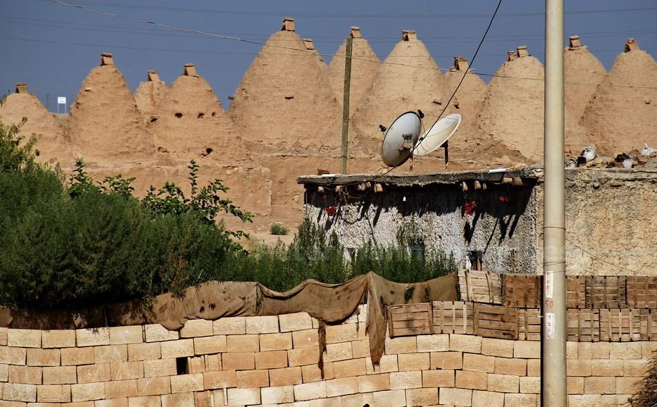 HARRAN - URFA-TURKEY - ALTER ORT MIT TRULLIS