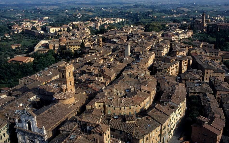 SIENA - TOSCANA-ITALY - PANORAMA