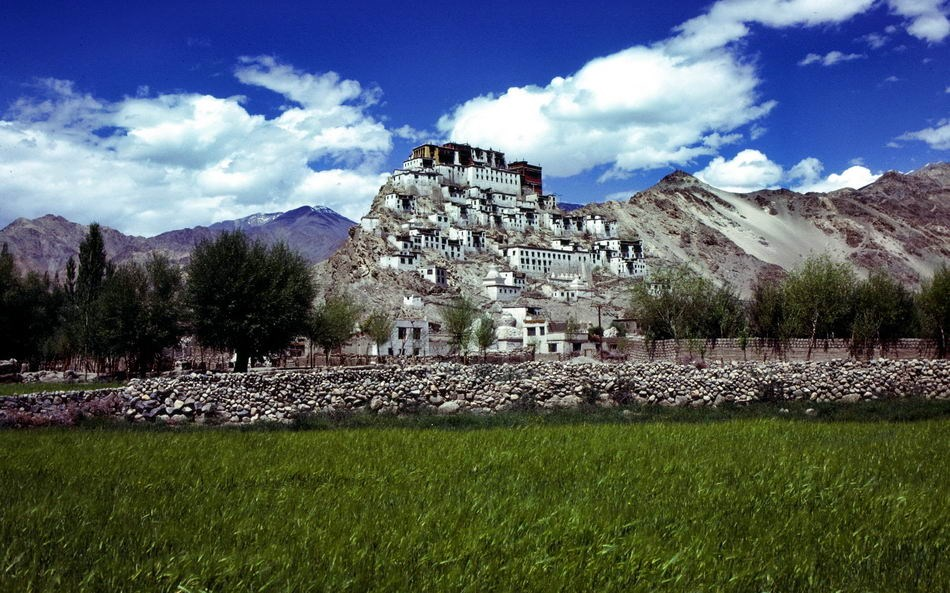 TIKSE - LADAKH-INDIA - PANORAMA