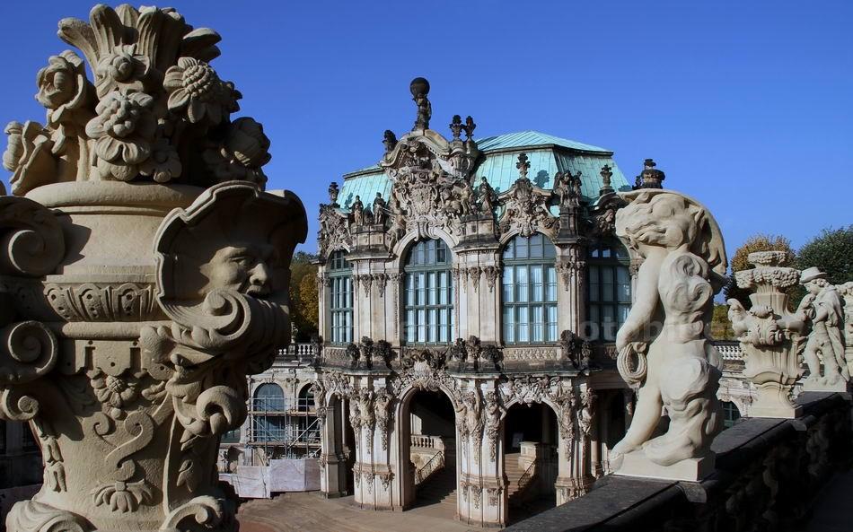 DRESDEN - GERMANY - ZWINGER