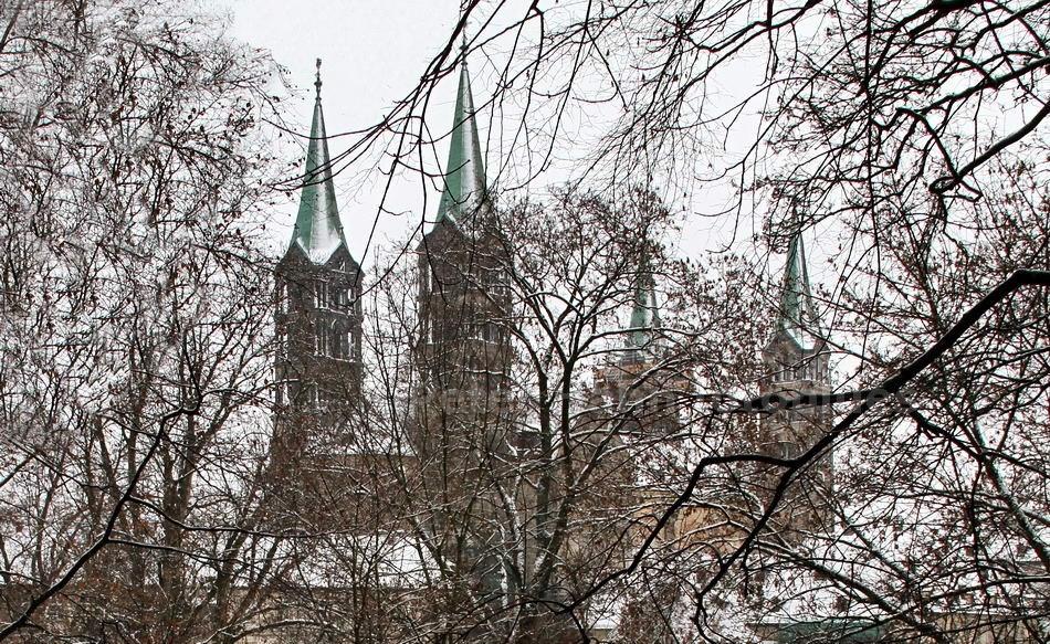 BAMBERG - OBERFRANKEN-GERMANY - DOM