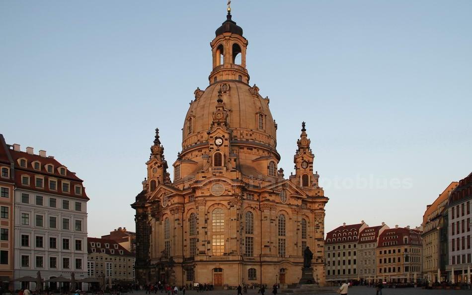 DRESDEN - GERMANY - FRAUENKIRCHE