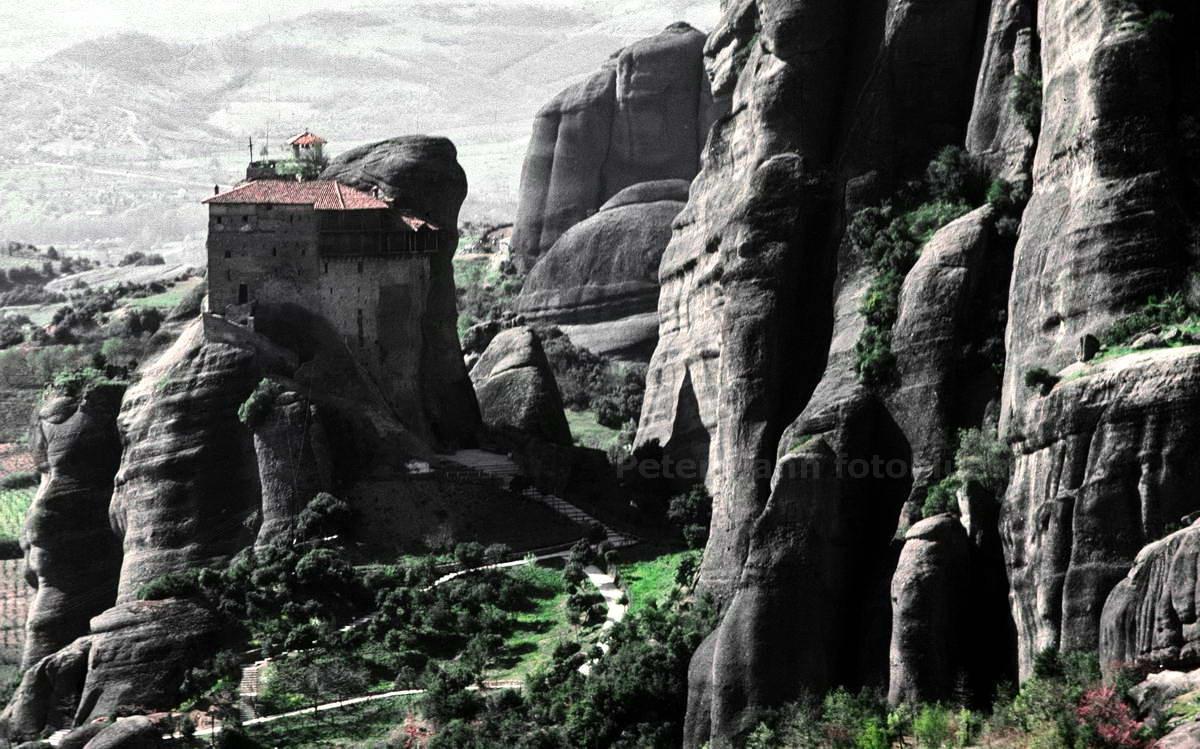METEORA KLÖSTER - KALAMBAKA-THESSALIEN - GRIECHENLAND-GREECE