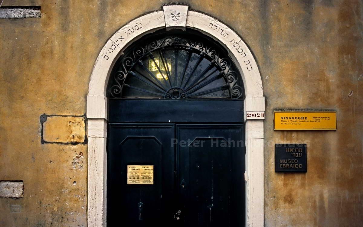 VENEZIA-ITALIA-SYNAGOGE IM GETTO