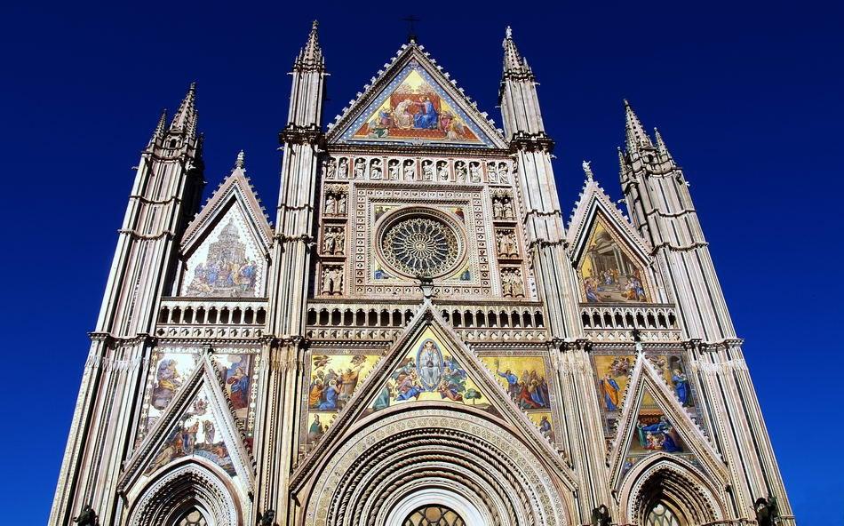 ORVIETO - UMBRIEN - ITALIEN-ITALY - DOM