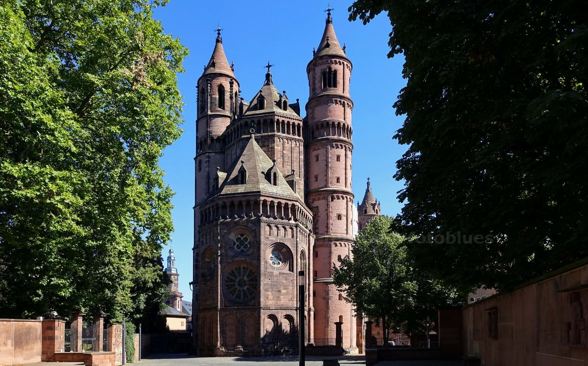 WORMS - RHEIN - DEUTSCHLAND-GERMANY - DOM ST. PETER - EHEM. KAISERDOM
