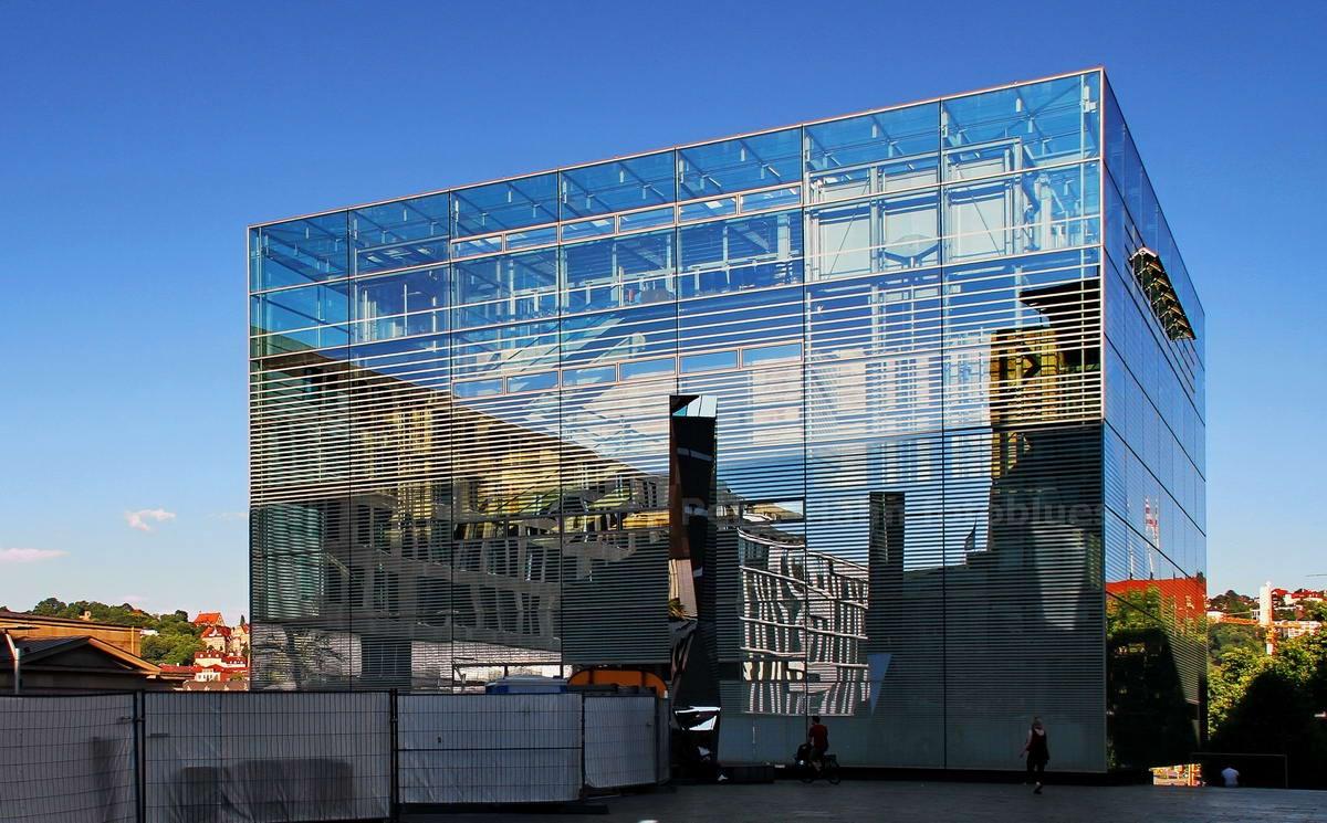 STUTTGART - DEUTSCHLAND-GERMANY - KUNSTMUSEUM - ERBAUT 2005 von HASCHER UND JEHLE