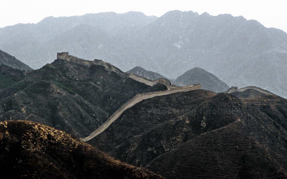 GROSSE CHINESISCHE MAUER - BADALING - CHINA